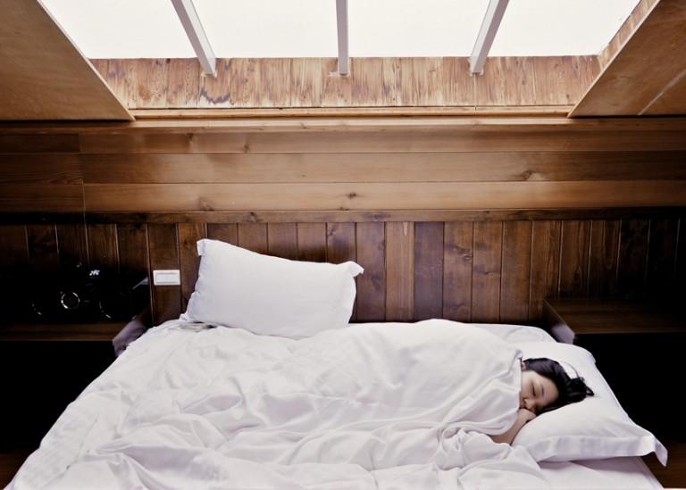 Schlafen im Winter