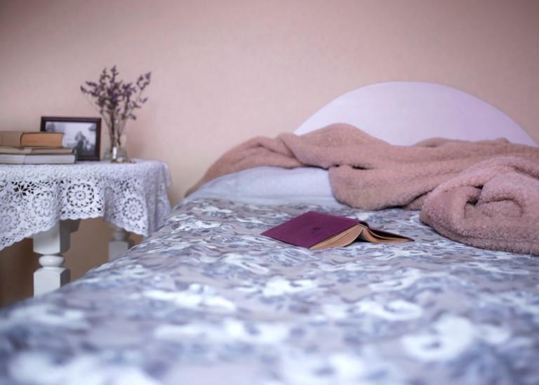 Das Bett ist unsere Regenerationsoase